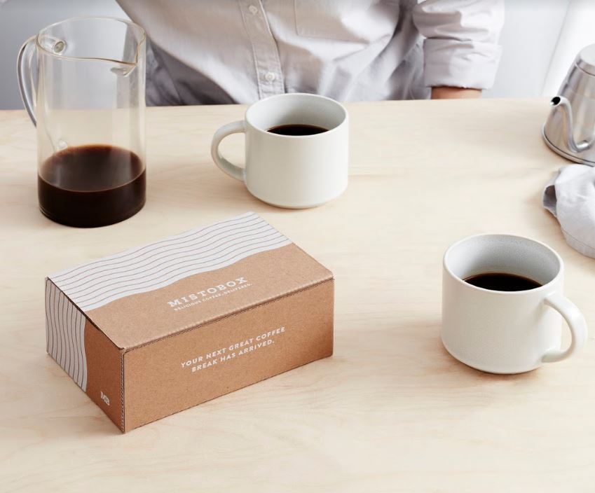 Specialty coffee subscription box
