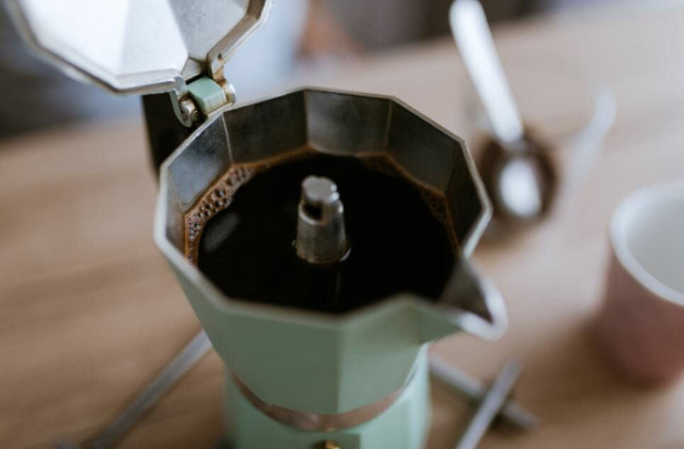 Moka Pot Coffee brewing Method