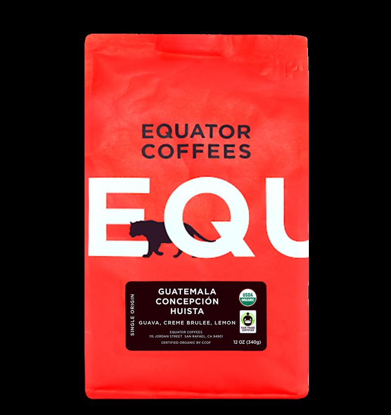 Equator coffee bag fair trade