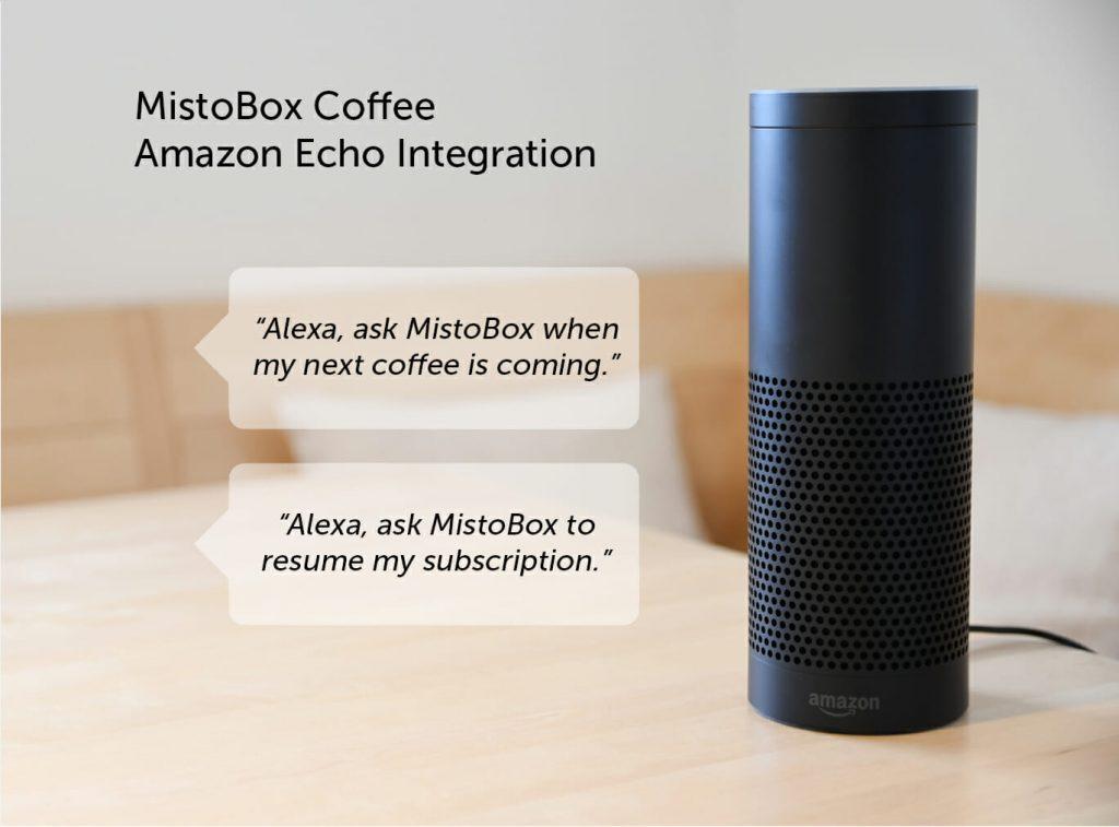 Order Mistobox on Alexa