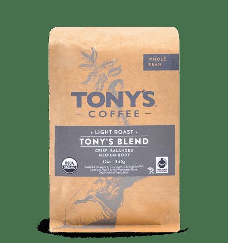 Tonys coffee light roast