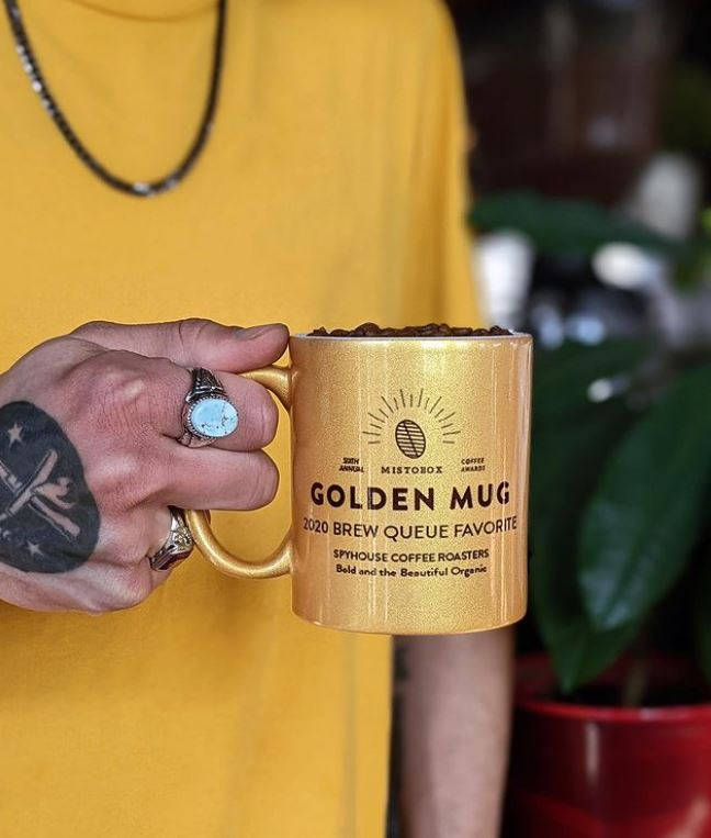 Golden Mug award spyhouse coffee roasters