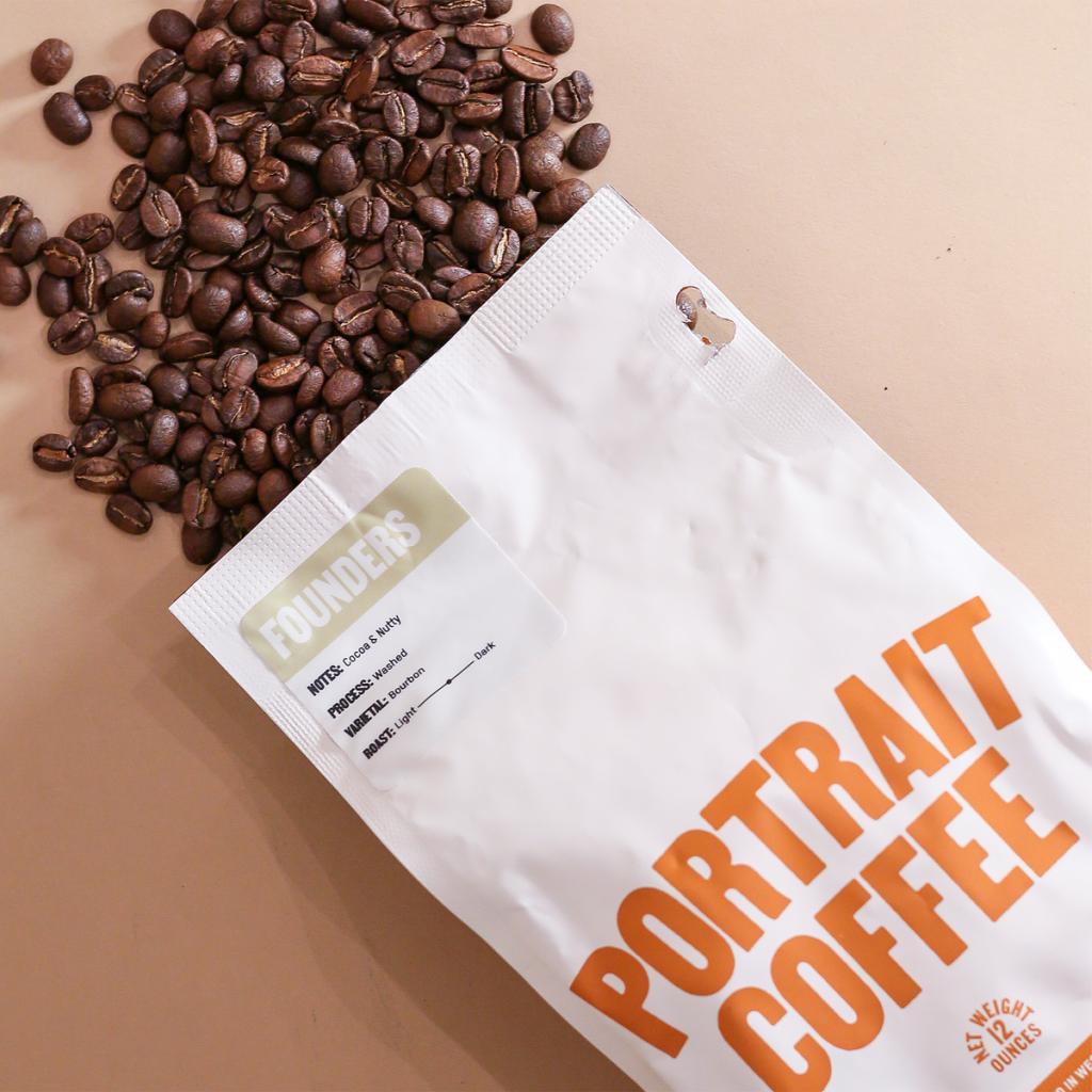 Portrait Coffee beans